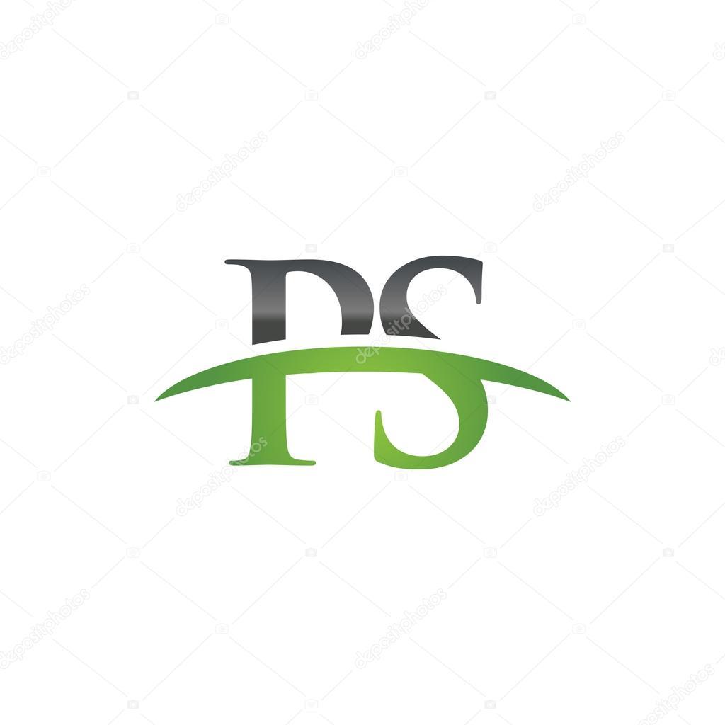 Initial letter ps green swoosh logo swoosh logo stock vector initial letter ps green swoosh logo swoosh logo stock vector buycottarizona
