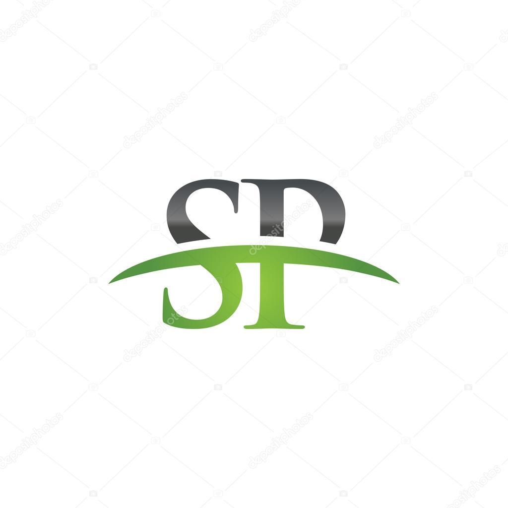 Initial letter sp green swoosh logo swoosh logo stock vector initial letter sp green swoosh logo swoosh logo stock vector biocorpaavc Choice Image