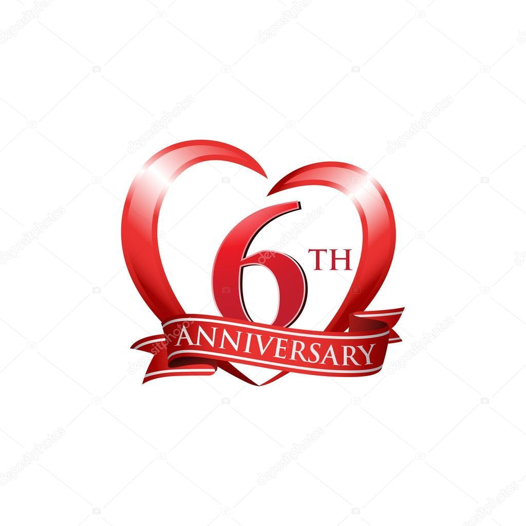 Áˆ Happy 6th Wedding Anniversary Stock Images Royalty Free 6th Wedding Anniversary Vectors Download On Depositphotos