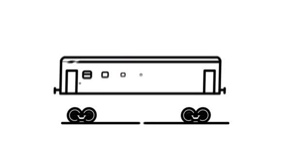 Ikona linky osobní železniční dopravy na Alfa kanálu
