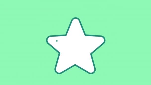 Csillagvonal ikon az Alfa-csatornán