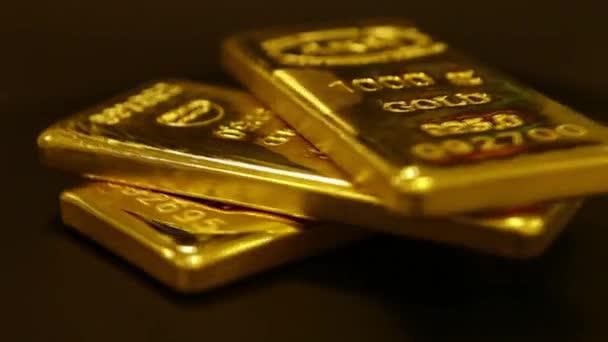 rotující Gold Bullions