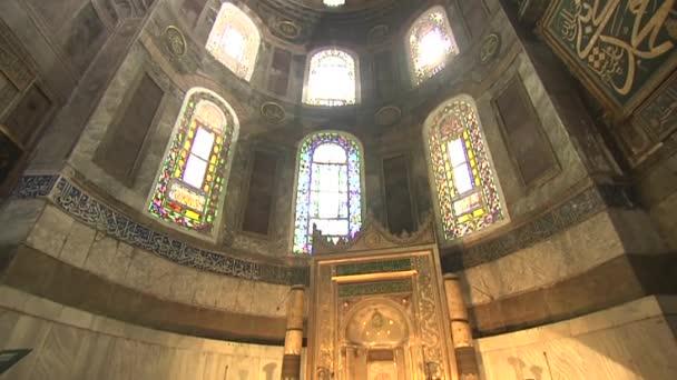Interiér muzea Hagia Sophia