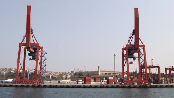 Konténer szállítás, hajó