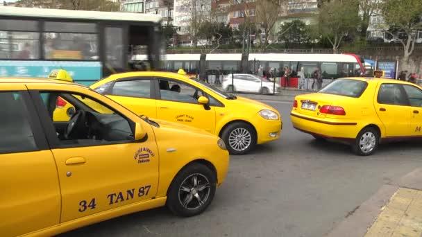 Istanbul Taxi čeká cestující