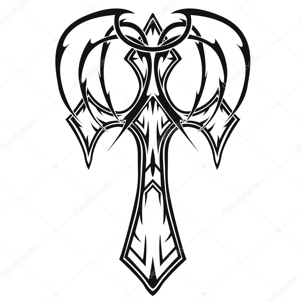Cruces Tatuajes Tribales Vector De Stock C Klowreed 106854770