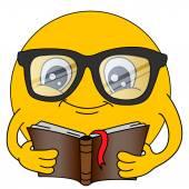 Fotografie Emoticons. Emoji. Lächeln Sie Symbole. Isolierte Abbildung