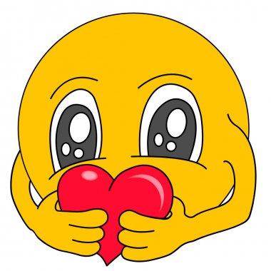 Emoticons. Emoji. Smile icons. Isolated illustration