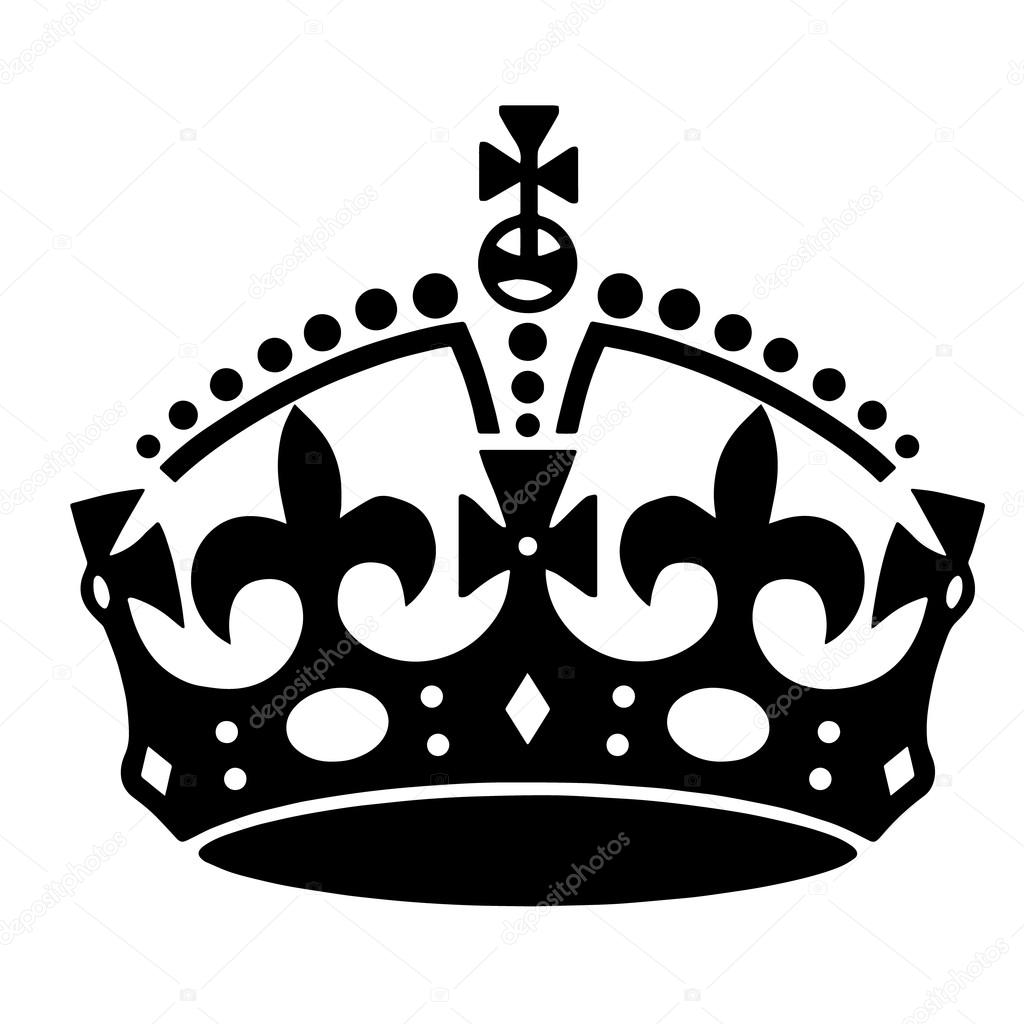 Crown tattoo vector — Stock Vector © Klowreed #87875154