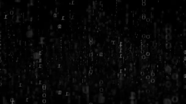 Digitální pohybu pozadí s animovaným lesk čtverce, spojnicemi a koule