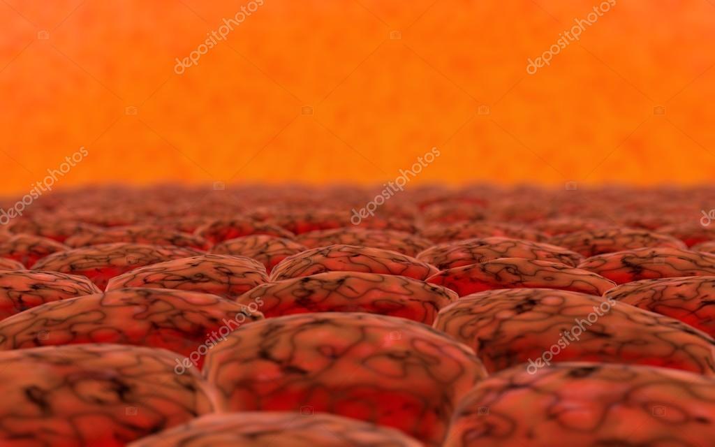 Anatomie organischen Hintergrund. Molekulare Zellstruktur ...