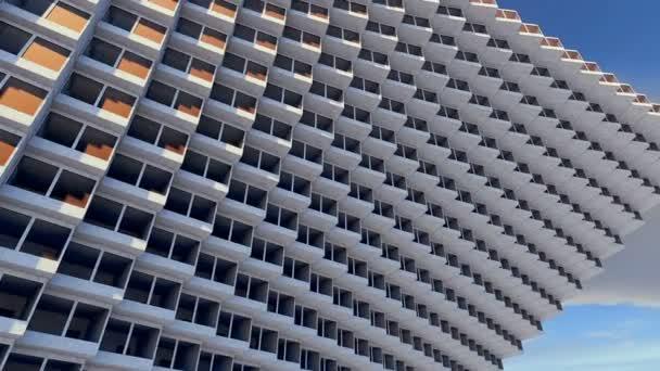 Future architecture. Futuristic building. modern building. Future concept
