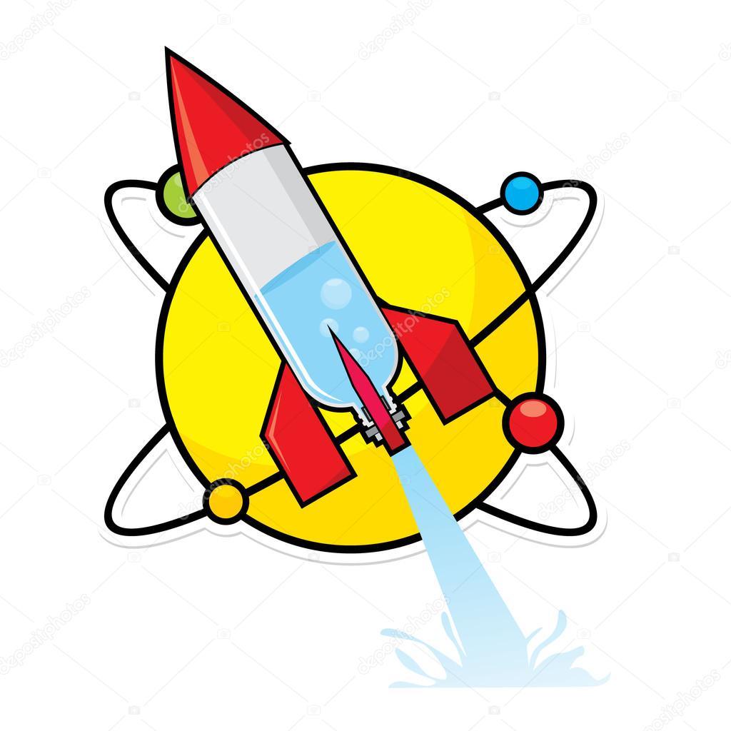 Water Bottle Rocket Science Project: ракета бутылку воды