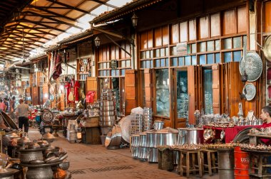 Coppersmith street in Gaziantep