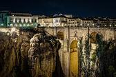Photo The New Bridge Ronda, at night