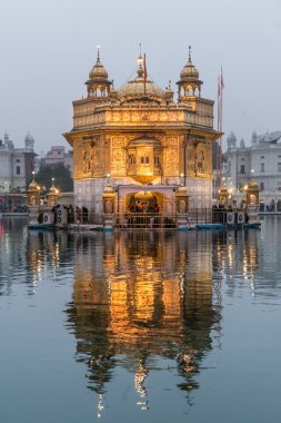 The Golden Temple at dusk