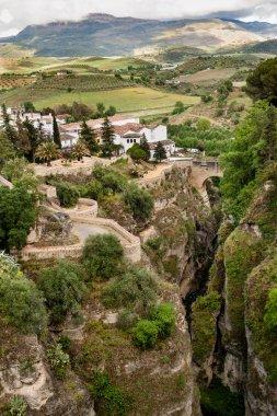 El Tajo canyon and valley