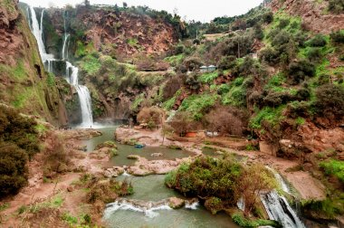 Waterfalls at Ouzoud, Morocco