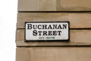 Street sign in Glasgow