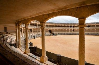 The bullring in Ronda, Spain