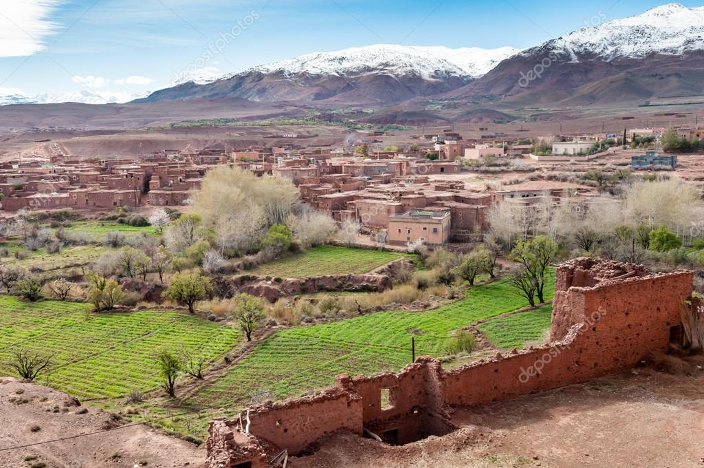 Picturesque view from Kasbah of Glaoui