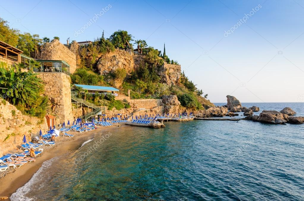 A sheletered cove in Antalya