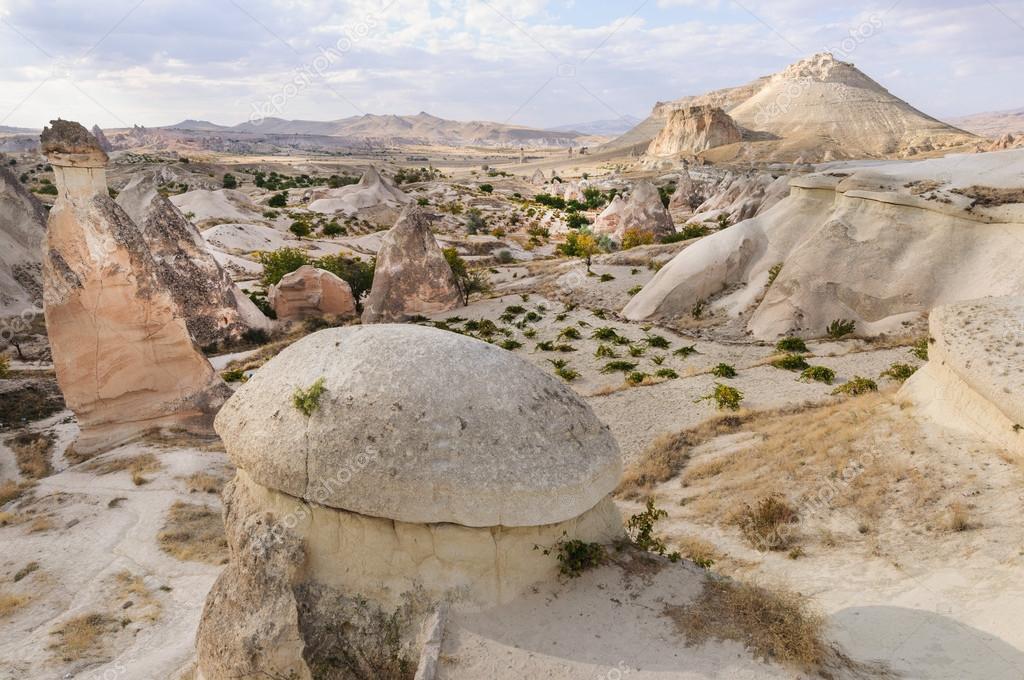 Cappadocia landscape with rocks