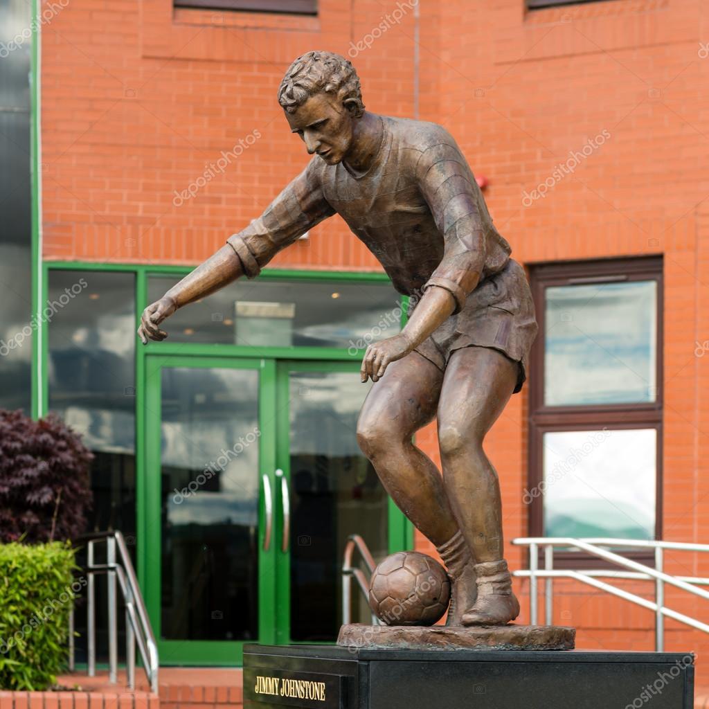 Jimmy Johnstone statue – Stock Editorial © Cornfield