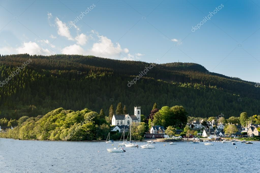 The village of Kenmore in Scotland