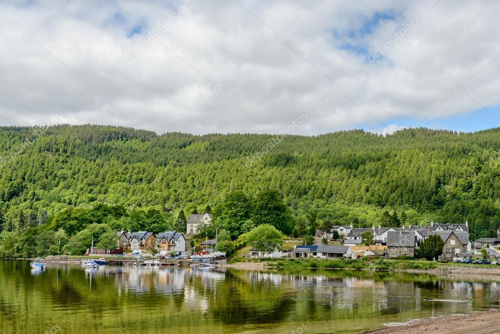 The village in Scotland
