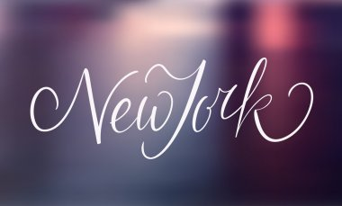 New York text