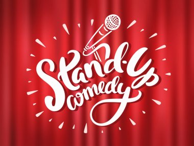 Stand up comedy background