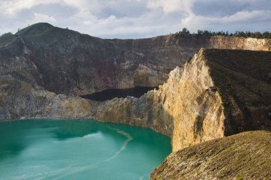 Kelimutu color lakes
