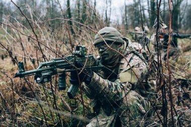 Russian spetsnaz operator.