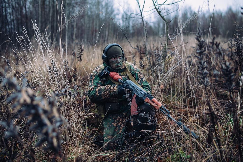 Russian Spetsnaz Soldier