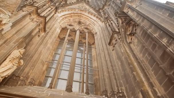 Ein Fenster des Kölner Doms in Deutschland