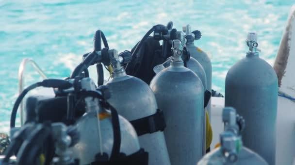 Lahve se stlačeným vzduchem pro potápění