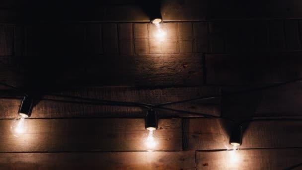 Ghirlande di luci. Weding arredamento