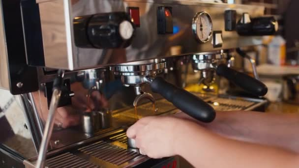 Professional preparation of coffee in the coffee machine