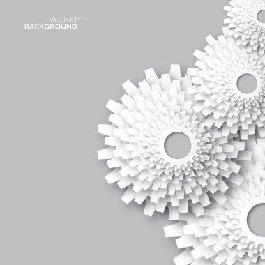 Flower gears - dandelions