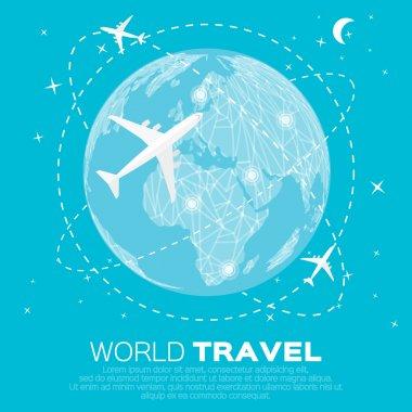 Travel World map