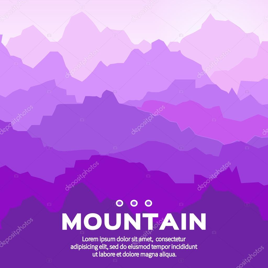Mountain  landscape.