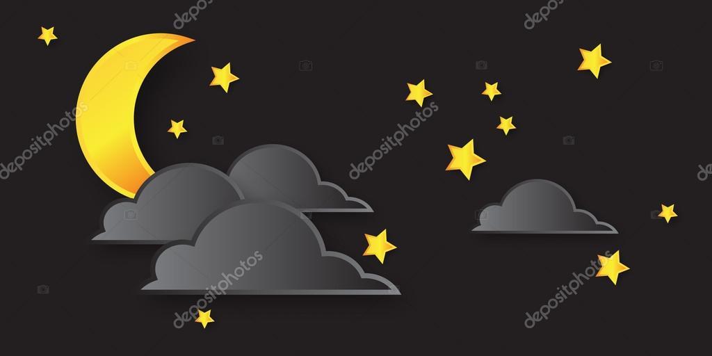Night with stars