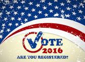 Presidential election in USA - poster - scratdesign