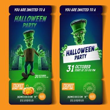 ticket halloween party.