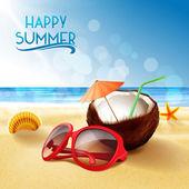 letní pláž relaxovat
