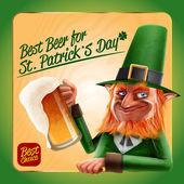 St patrick je den a pivo