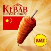 chutné turecký kebab