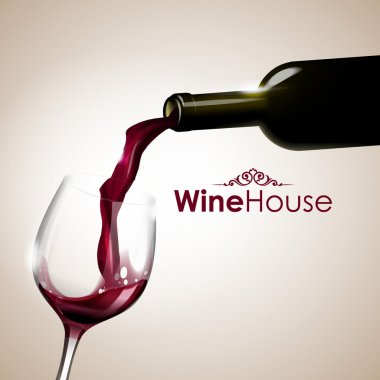 wine house backgroun