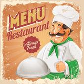 Šéfkuchař restaurace menu